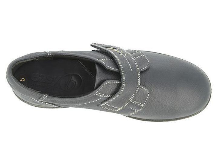 Womens Wide Fit DB Healey Shoes - Dark Navy