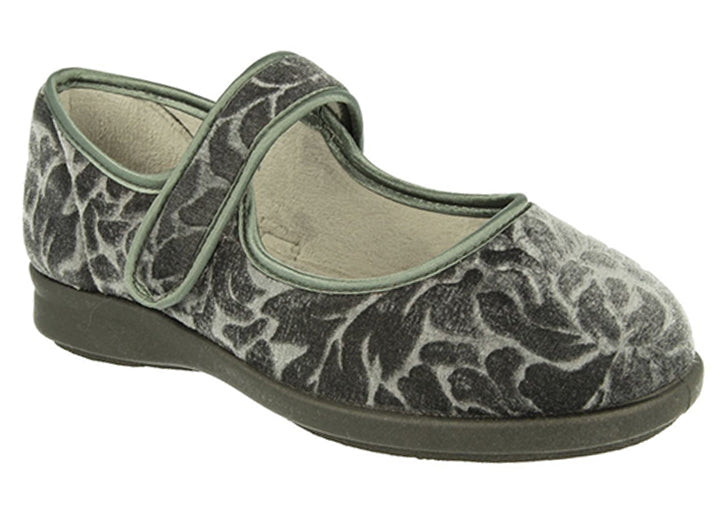 Womens Wide Fit DB Houghton Slippers