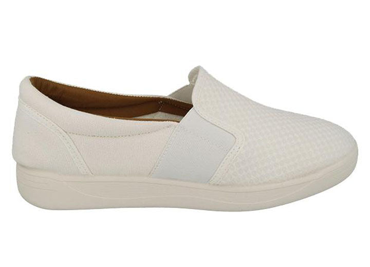 Womens Wide Fit DB Juno Canvas