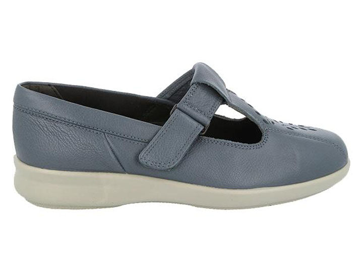 Womens Wide Fit DB Kinross Shoes - Denim Blue