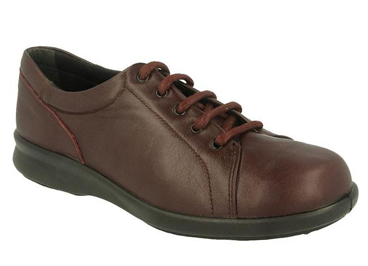 Womens Wide Fit DB Phoebe Shoes - Brown