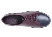 Womens Wide Fit DB Phoebe Shoes - Navy and Burgundy