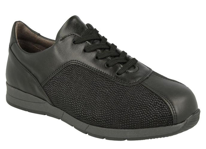 Womens Wide Fit DB Prestwick Canvas