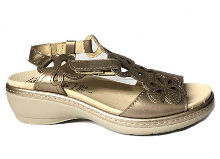 Womens Wide Fit DB Camellia Sandals