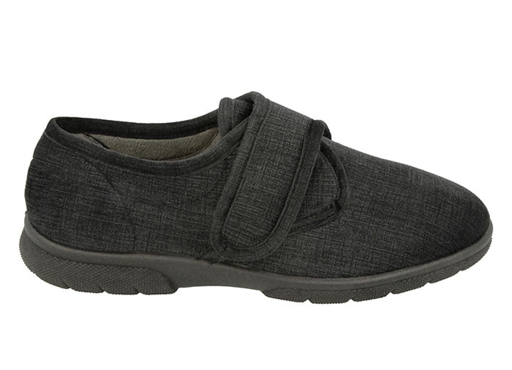 Mens Wide Fit DB Hallam Slippers