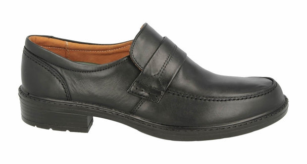 Wide Fit DB Leather Slip On Loafers|collection_image