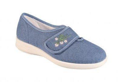 Women's DB Sandy Canvas Summer Shoes in a Wider Fitting