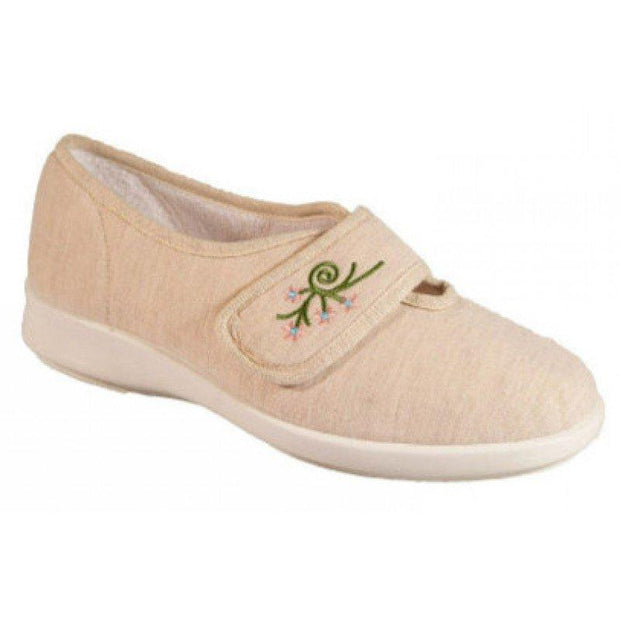 Women's DB Sandy Canvas Summer Shoes in a Wider Fitting|collection_image