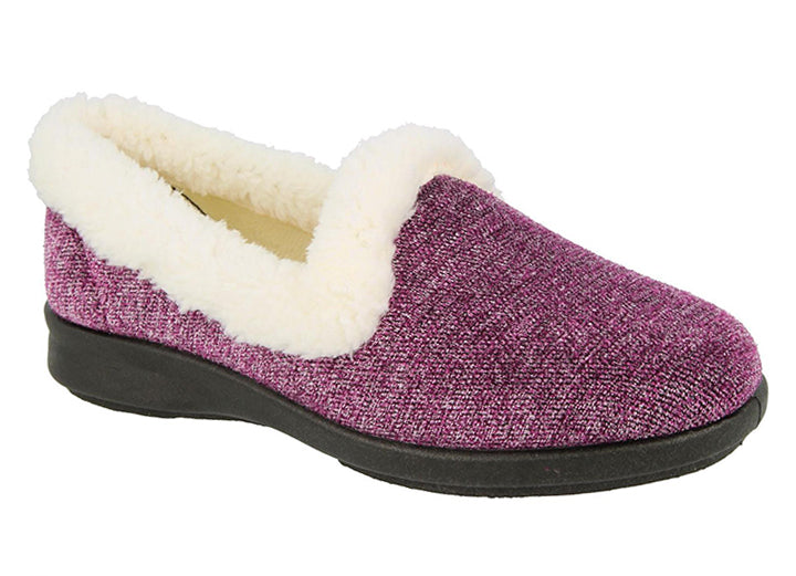 Womens Wide Fit DB Verity Slippers