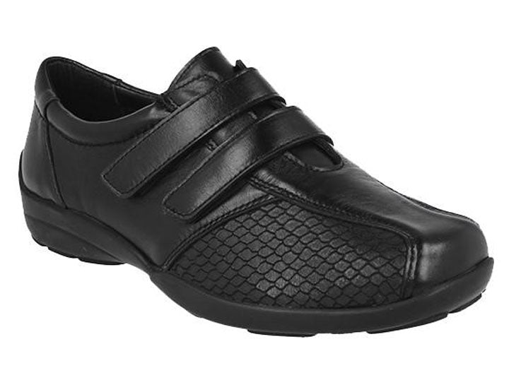 Womens Wide Fit DB Vichy Shoes
