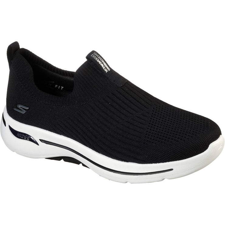 Womens Wide Fit Skechers Go Walk Arch Shoes