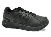 Mens Wide Fit I-Runner Pro Leather Trainers