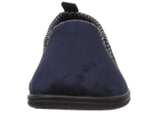 Mens Wide Fit Padders Lewis Slip On Slippers