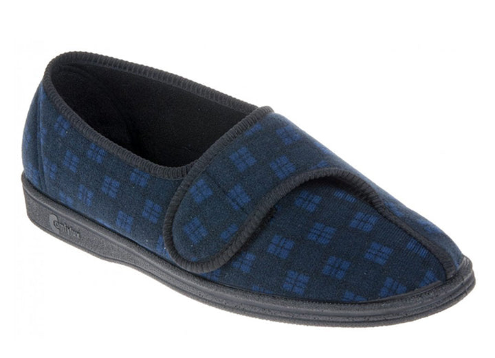 Mens Wide Fit Comfylux Paul Slippers