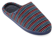 Mens Wide Fit Padders Justin Mule Slippers