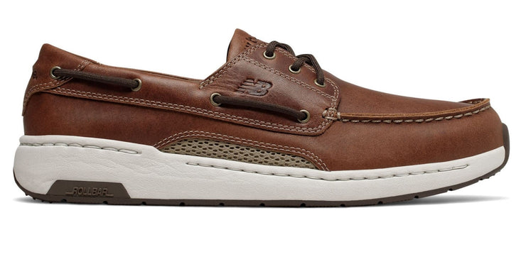Mens Wide New Balance MD1200SB Brown Boat Shoes|collection_image