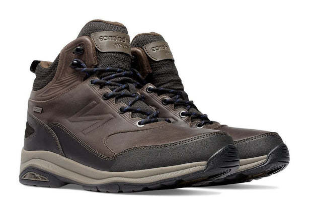 Men's Wide New Balance MW1400DB Brown Hiking Boots