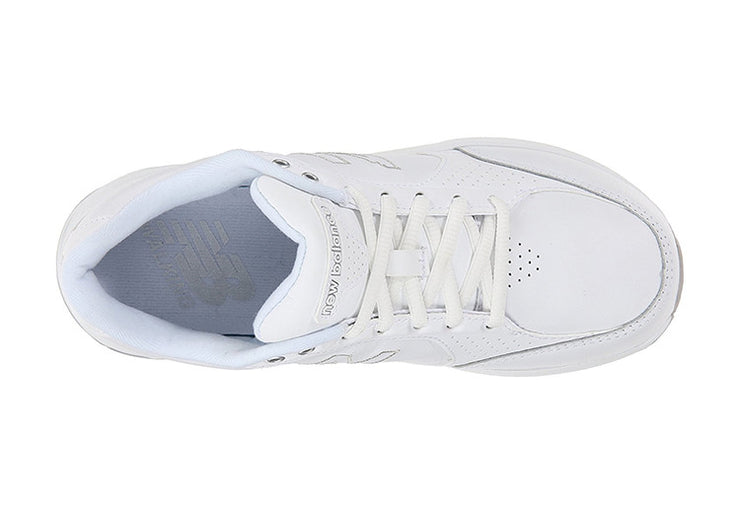 Womens Wide Fit New Balance WW928WT White Trainers