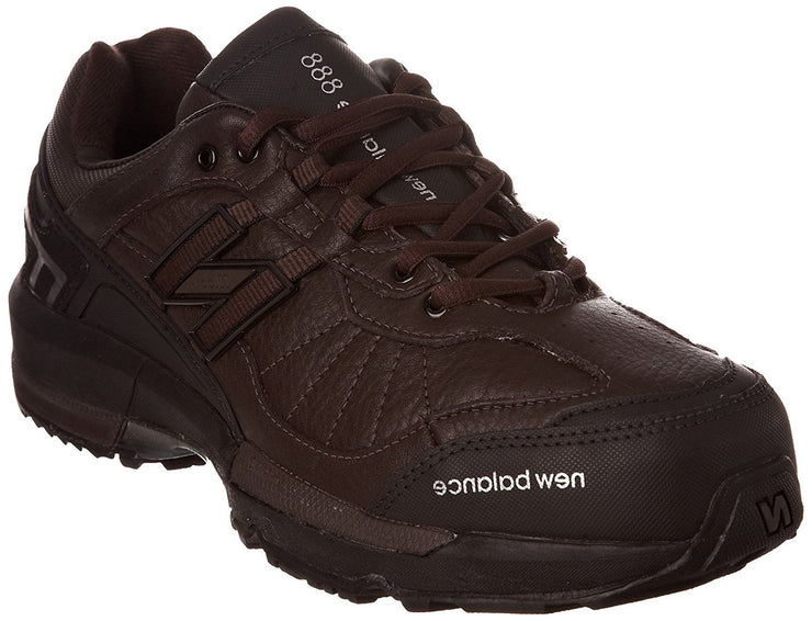 Men's Wide New Balance 888 Brown Hiking Shoes