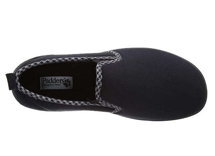 Mens Wide Fit Padders Lewis Slippers