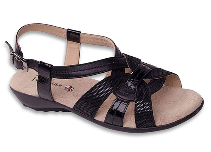 Womens Wide Fit Padders Pandora Sandals