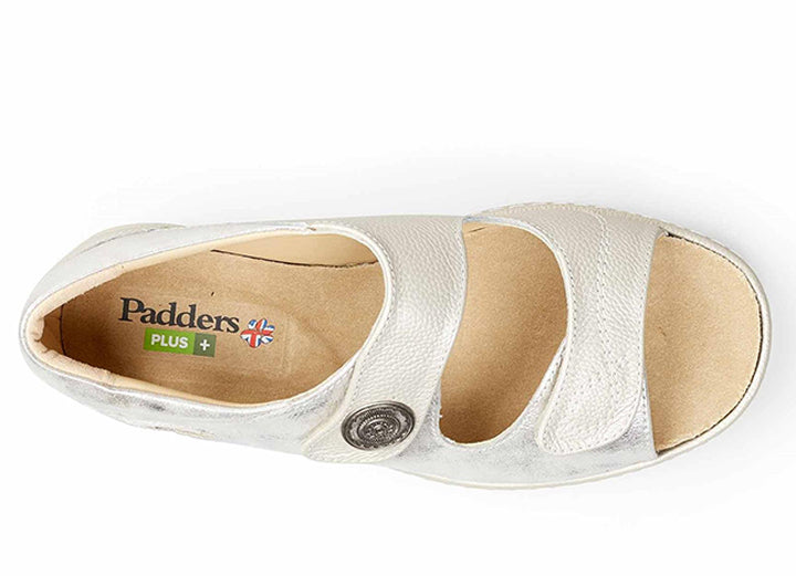 Womens Wide Fit Padders Sand Dune Sandals