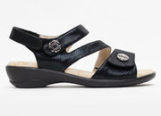 Womens Wide Fit Padders Vienna Sandals
