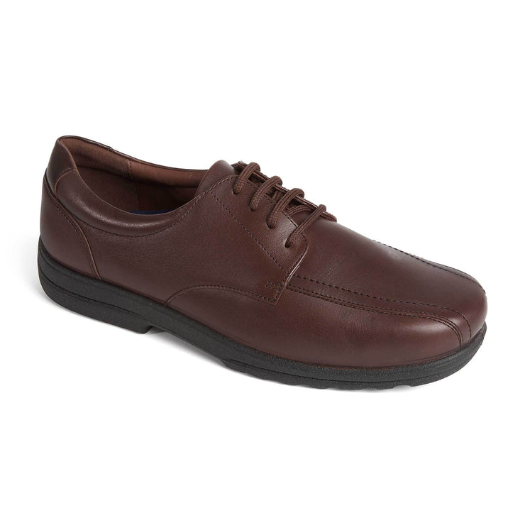 Wide Fit Padders Smart Leather Shoes