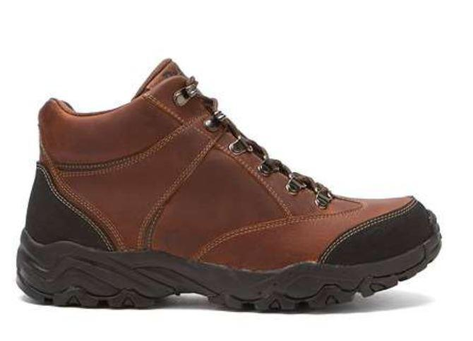 Men's Wide Fit Navigator Brown Waterproof Boots|collection_image