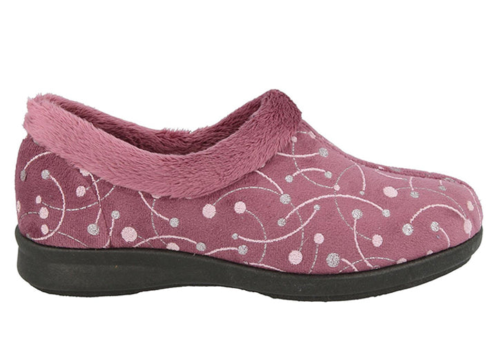 Womens Wide Fit DB Redditch Slippers
