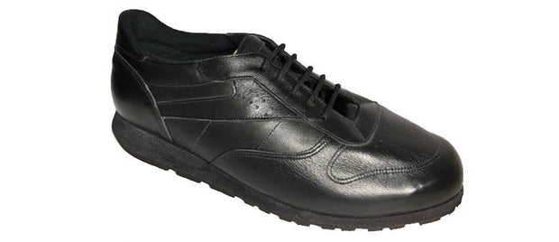New Wide Men's 6E Trainers Black