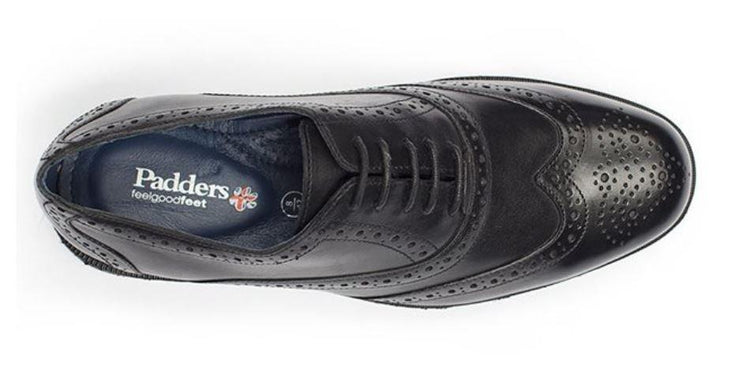 Wide Fit Padders Leather Brogues