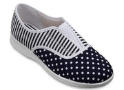 Womens Wide Fit DB Julia Canvas Shoes