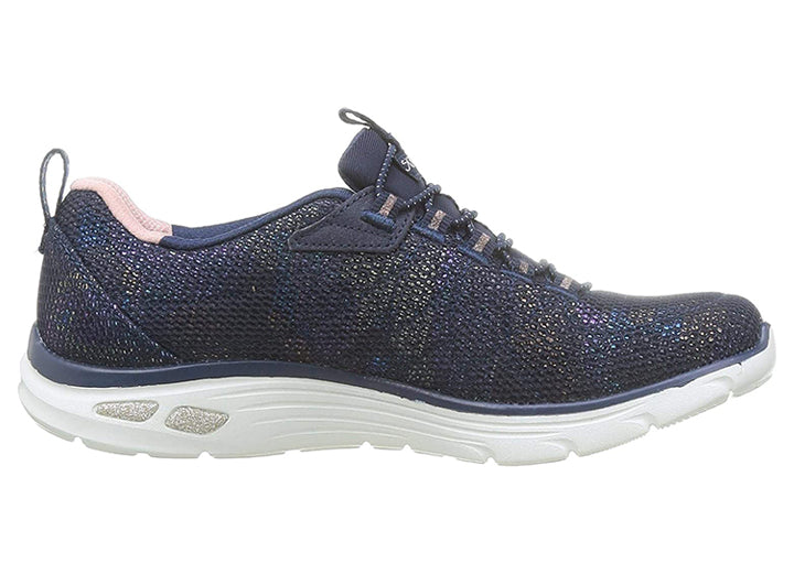 Womens Wide Fit Skechers Empire D'Lux Shoes