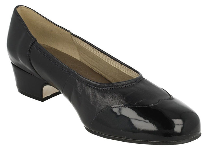 Womens Wide Fit Equity Heidi Shoes