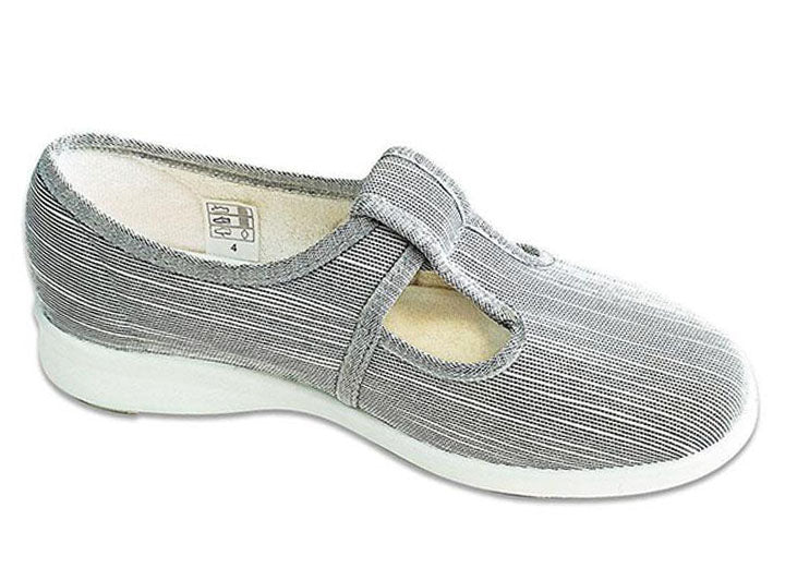 Womens Wide Fit DB Cardiff Canvas Shoes