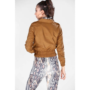 Couture Di Pari Ginger Nubuck Jacket
