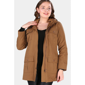 Oversize Ginger Trench Coat Jacket