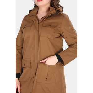 Oversize Ginger Trench Coat Jacket - Couture Di Pari