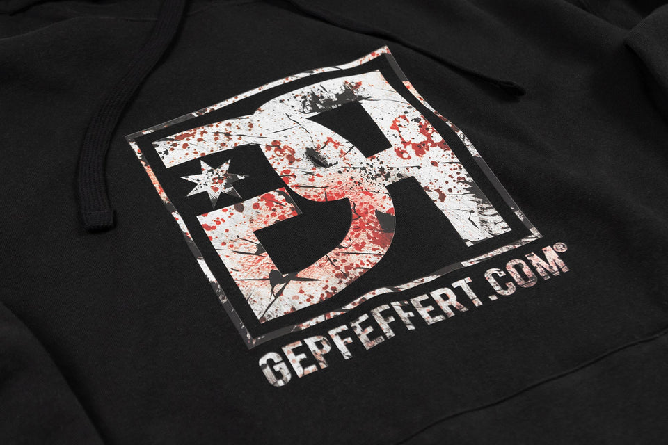 gepfeffert.com® | gepfeffert.com® Hoodie - GP-Logo 'used look'