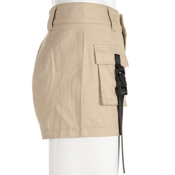Spring Summer High Waist Shorts