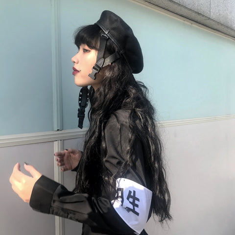 Harajuku Adjustable Buckle Hat