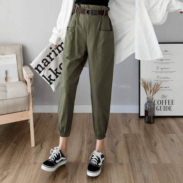 Spring Korean Pants