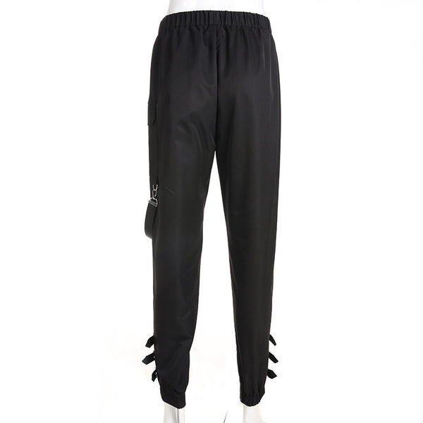High Waist Cool Cargo Pants