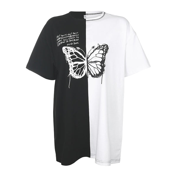Exclusive Big and Cropped Butterfly T-Shirts