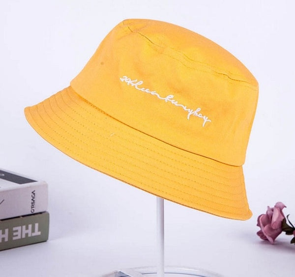 Streetstyle Bucket Hat - PINK, YELLOW, WHITE, BLACK, RED