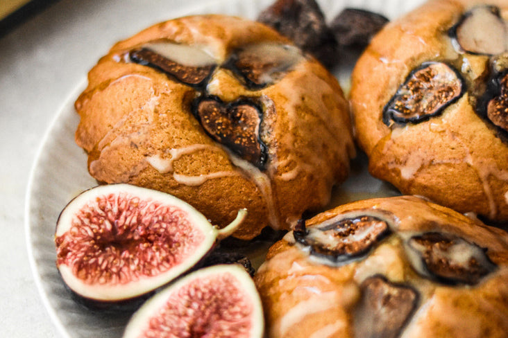 Mini Olive Oil and Fig Cakes