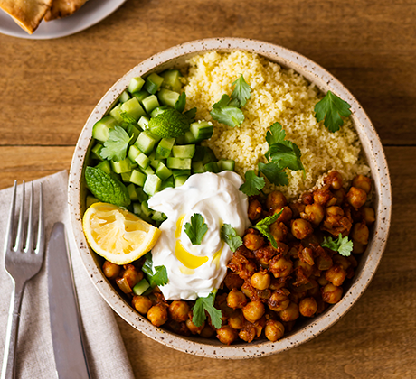 Pantry Recipe: Moroccan Spiced Chickpeas