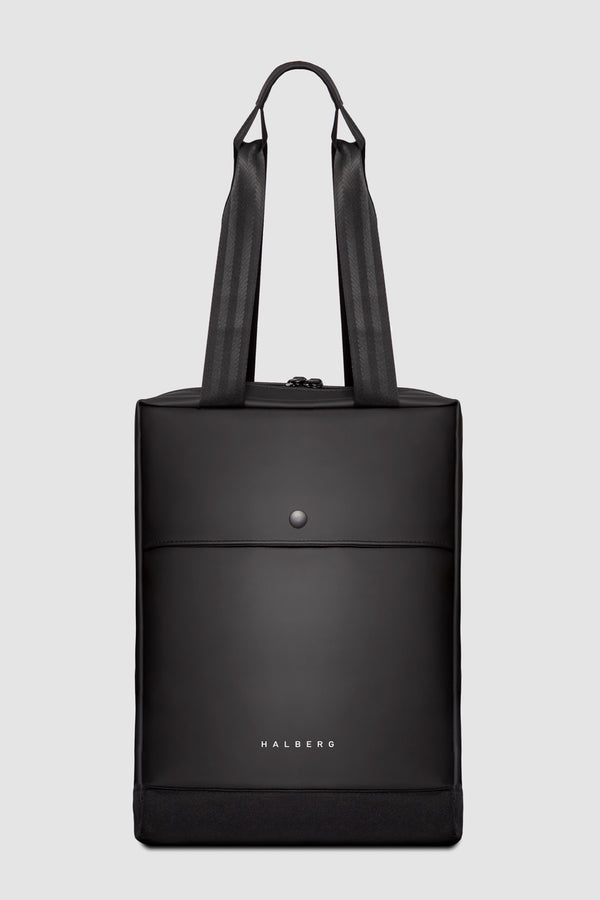 Backpack Melbourne PU matt black