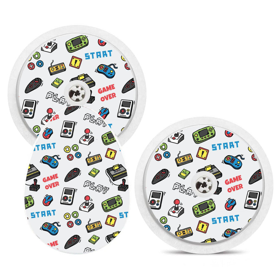 Bubble Smart Reader Sticker Decal: Video Games